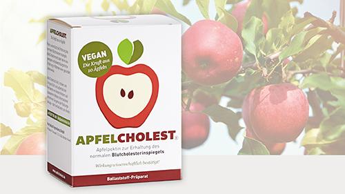 ApfelCholest – Cholesterin-Präparat