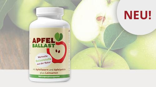 ApfelBallast – Ballaststoff-Präparat